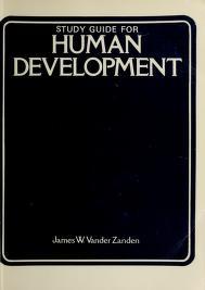 Cover of: Study guide for Human development   James Wilfrid Vander Zanden